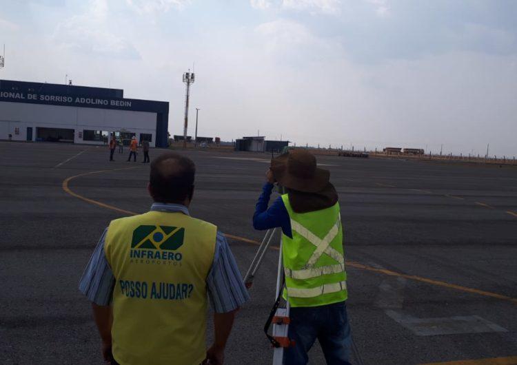 Infraero fiscaliza obras do Aeroporto de Sorriso