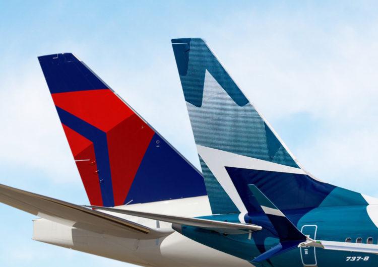 EE. UU. aprueba provisionalmente la alianza entre Delta y WestJet