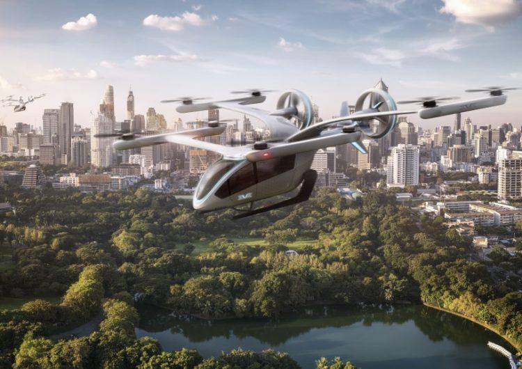 Va Embraer por la movilidad aérea urbana