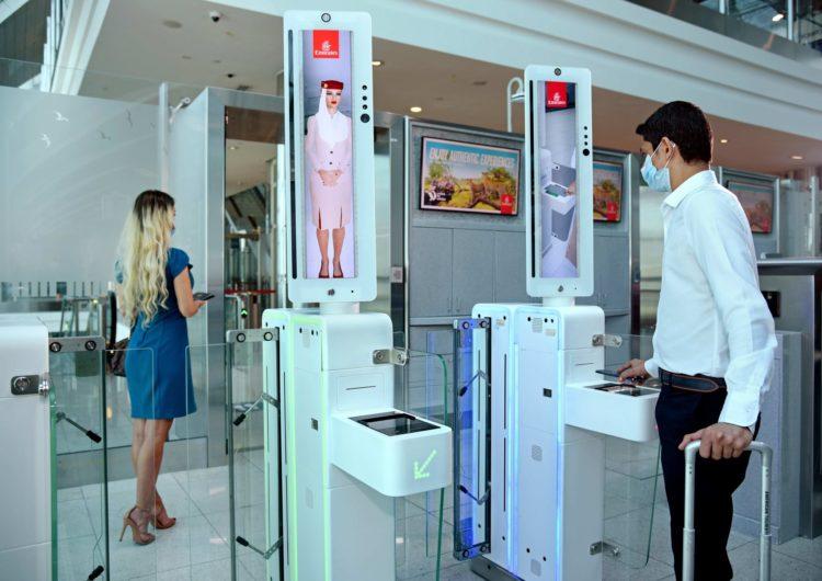 Ruta biométrica para vuelos seguros