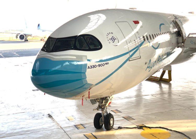 El Airbus A330neo de Garuda Indonesia y su curioso livery para tomar conciencia