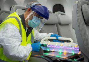Boeing y la Universidad de Arizona presentan herramientas y técnicas de limpieza efectivas frente al COVID-19