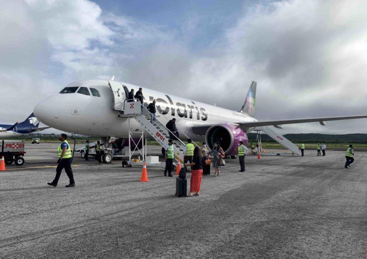 Volaris estrena ruta de CDMX a Campeche