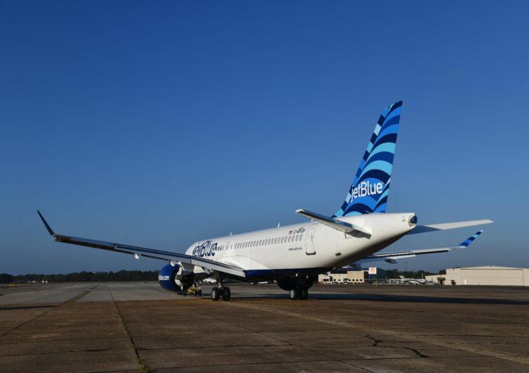 El primer Airbus A220 de JetBlue está casi listo y comenzará a volar a principios de 2021