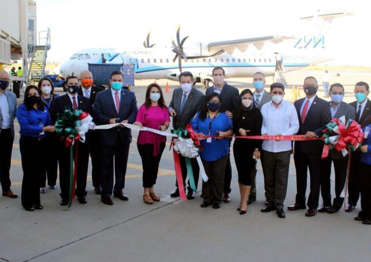 Aeromar levanta vuelo con ruta directa CdMx-Laredo