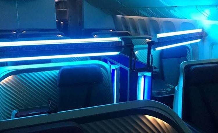 LATAM cria no Brasil tecnologia própria para limpeza de aeronaves com luz ultravioleta