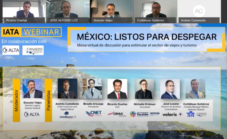 Industria Aérea de México Está Lista para Despegar
