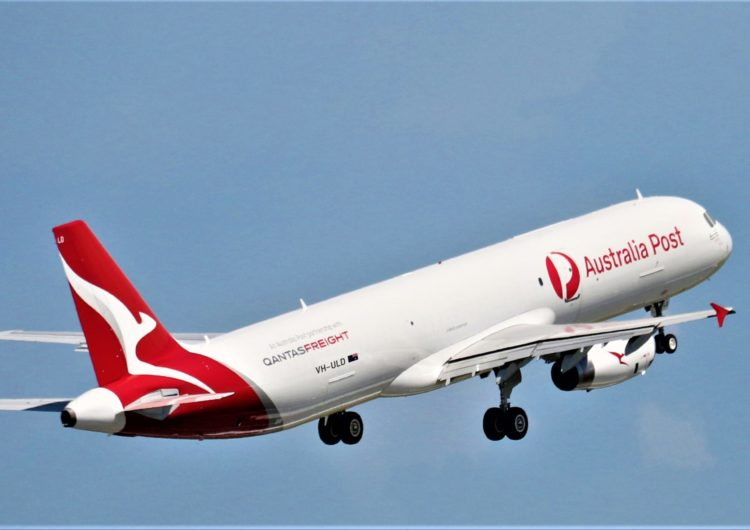 Vallair delivers the world's first Airbus A321 freighter converted aircraft to launch operator Qantas Freight
