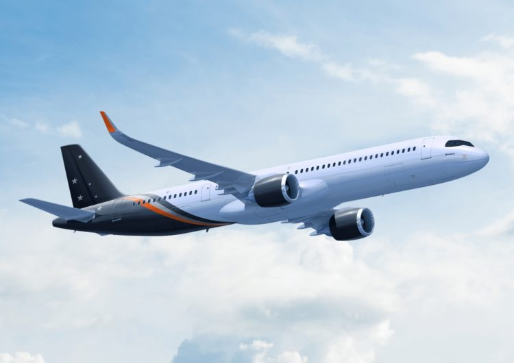 Air Lease Corporation entregó un nuevo A321-200neo LR a Titan Airways