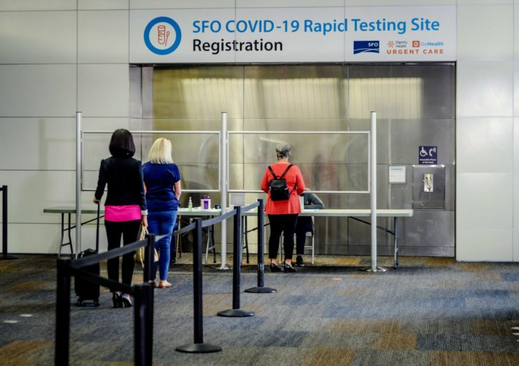 United Airlines Starts COVID-19 Testing Program at SFO