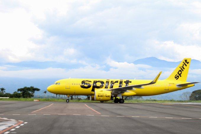 Spirit Airlines reanudará los vuelos director entre Houston (IAH) y El Salvador (SAL) el 10 de junio
