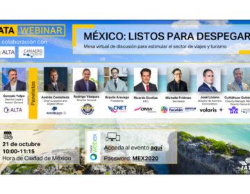 """WEBINAR: """"México: Listos para despegar"""""""