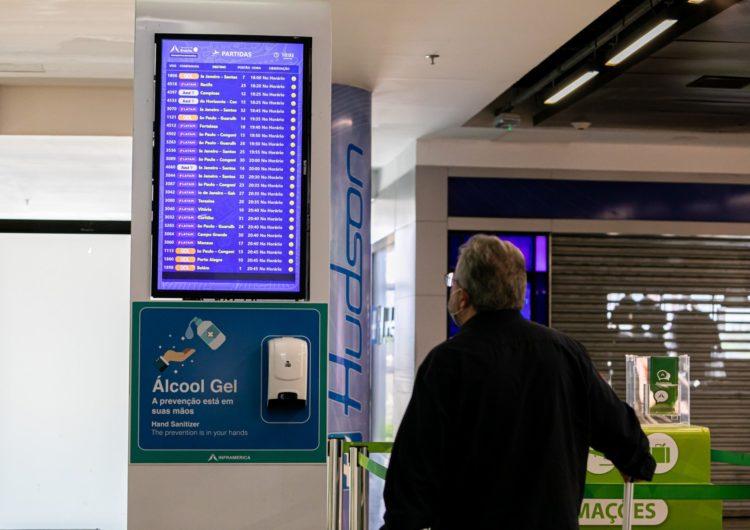 Aeroporto de Brasília registra em 2020 pior movimento em 15 anos