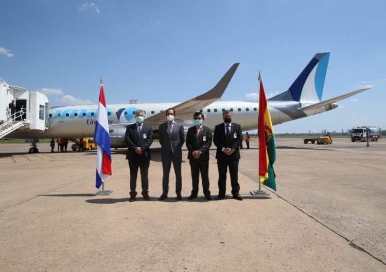 Amaszonas reanuda vuelos comerciales regulares a Paraguay