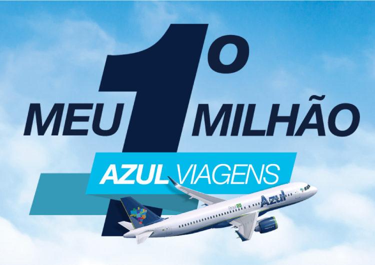 Azul Viagens dará 1 milhão de pontos para agentes que mais venderem pacotes de viagem