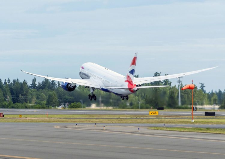 Convoy de 777 de British Airways proveniente de México logra salvar a sus pasajeros de la «lista roja»