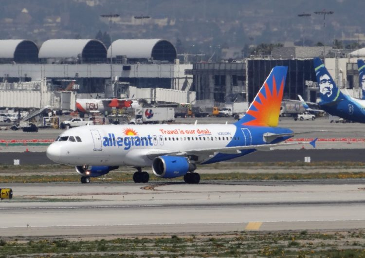 Allegiant adds new destinations in California and Washington