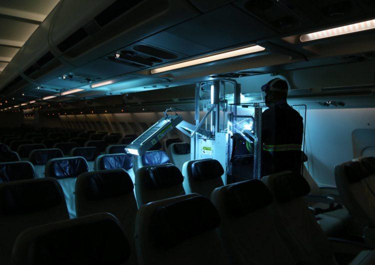 Azul incorpora mais oito dispositivos de luz ultravioleta da Honeywell