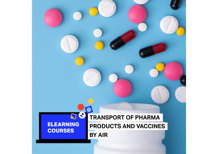"""IATA ofrece E-learning """"Transporte de productos farmacéuticos y vacunas por aire"""""""