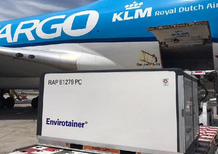 Air France KLM Martinair Cargo, listos para transportar las vacunas contra el Covid-19