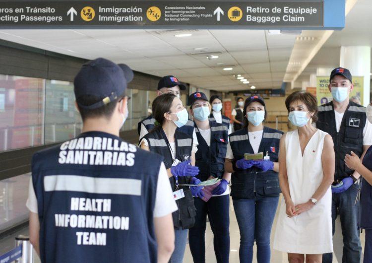 Chile reabre sus fronteras a través del Aeropuerto de Santiago