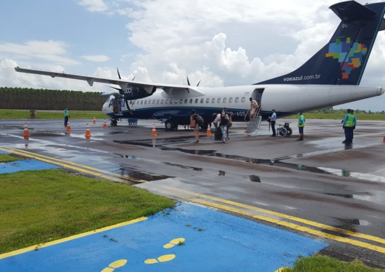 Azul reabre base e volta a operar em Teixeira de Freitas nesta segunda (16)