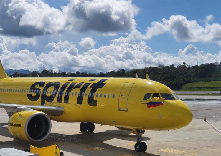 Spirit Airlines Sigue Creciendo en Colombia con su Nueva Ruta en Barranquilla