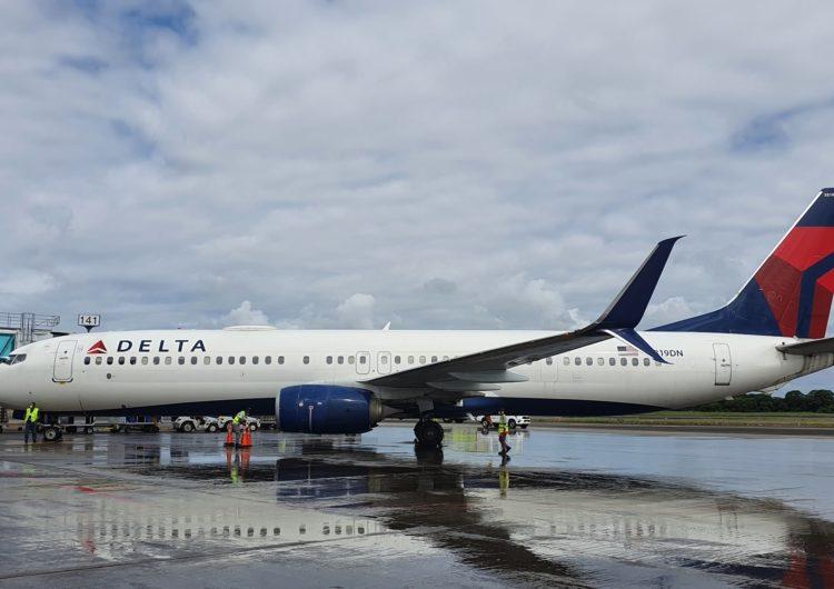 Aerolínea Delta reinició operaciones en el aeropuerto de Tocumen
