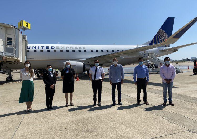 United Airlines reanuda vuelo directo Acapulco-Houston
