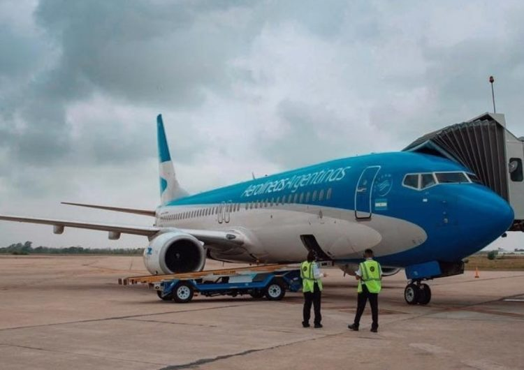 Aerolíneas Argentinas retoma rota para Salvador