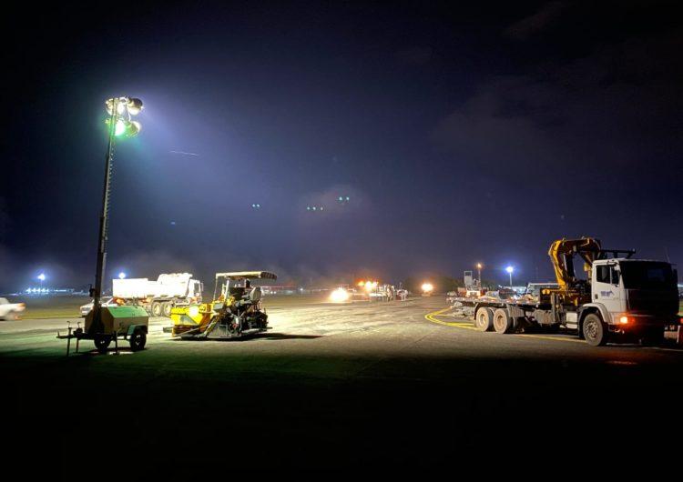 Infraero conclui obras na pista do Aeroporto de Boa Vista