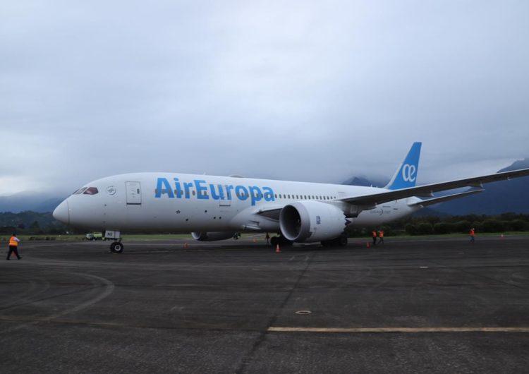 Air Europa regresó a Honduras y apuesta a su recuperación