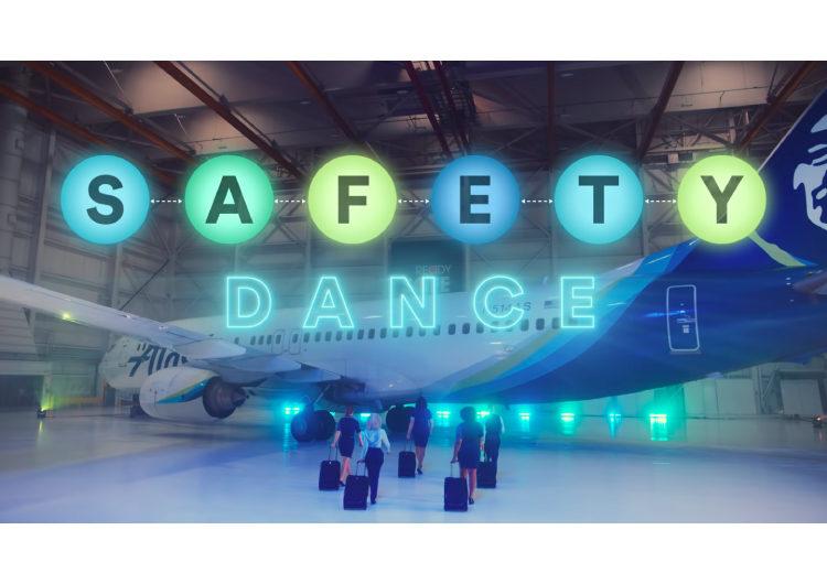 """""""Safety Dance"""": El divertido baile con el que una aerolínea te muestra las medidas contra Covid-19"""