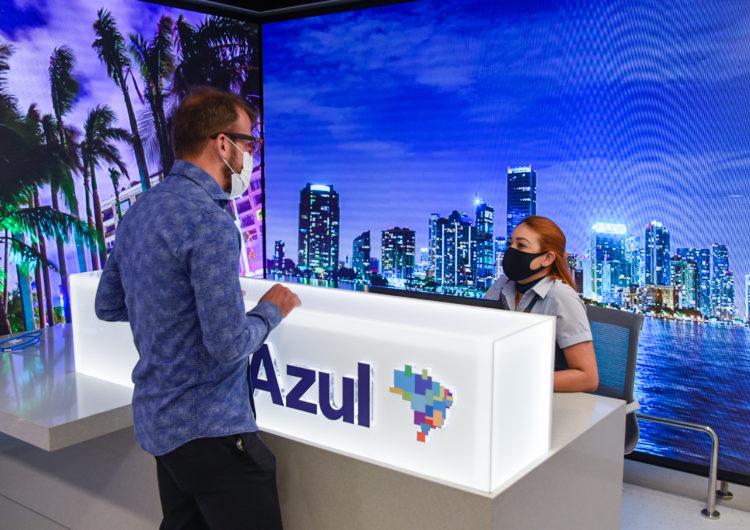 Azul inaugura loja conceito em Congonhas