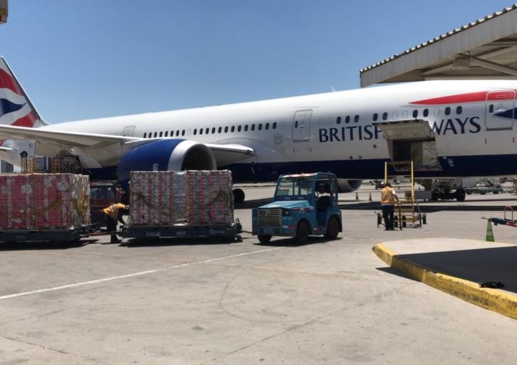 IAG Cargo transporta un número récord de cerezas argentinas y chilenas para la temporada de Navidad
