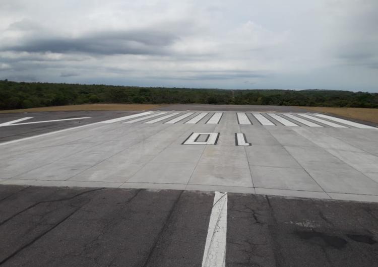 Aeroporto de Santarém recebe visita de representantes da Infraero e Ministério da Infraestrutura