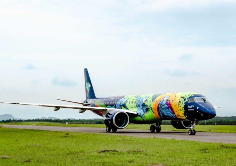 Ararinha Azul, a aeronave mais colorida da América do Sul, é apresentada em Campinas