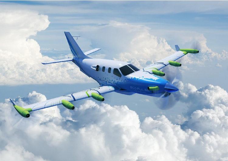 El demostrador de aviones híbridos EcoPulse logra su primer hito
