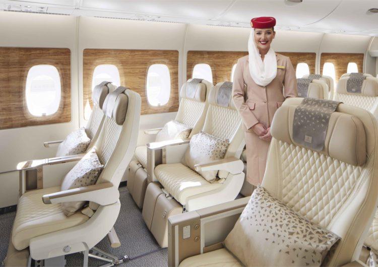Emirates presentó su renovada Premium Economy