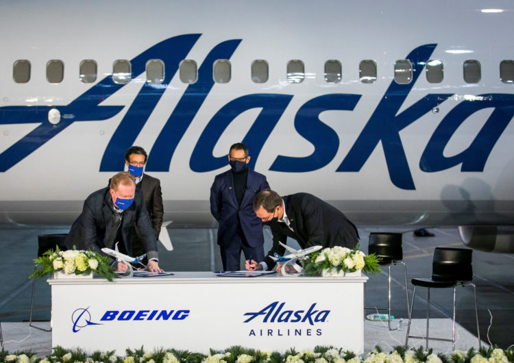 Alaska Airlines Boosts 737 MAX Orders and Options to 120 Jets