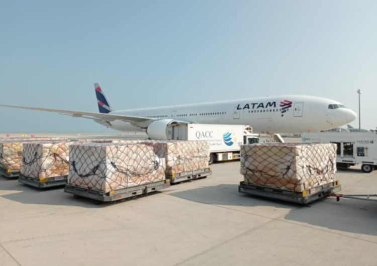 Latam Group operates in Qatar for the first time