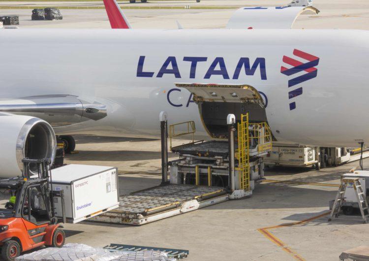 LATAM registrará 18,5 milhões de vacinas da Covid-19 transportadas