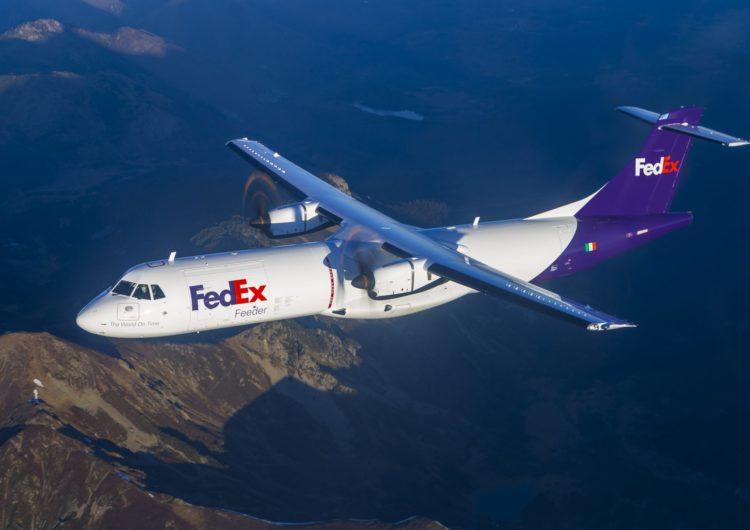 FedEx Express recibe el primer carguero regional ATR de los 30 pedidos