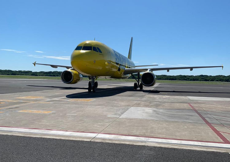 Spirit Airlines reanuda vuelos entre El Salvador y los EE.UU.