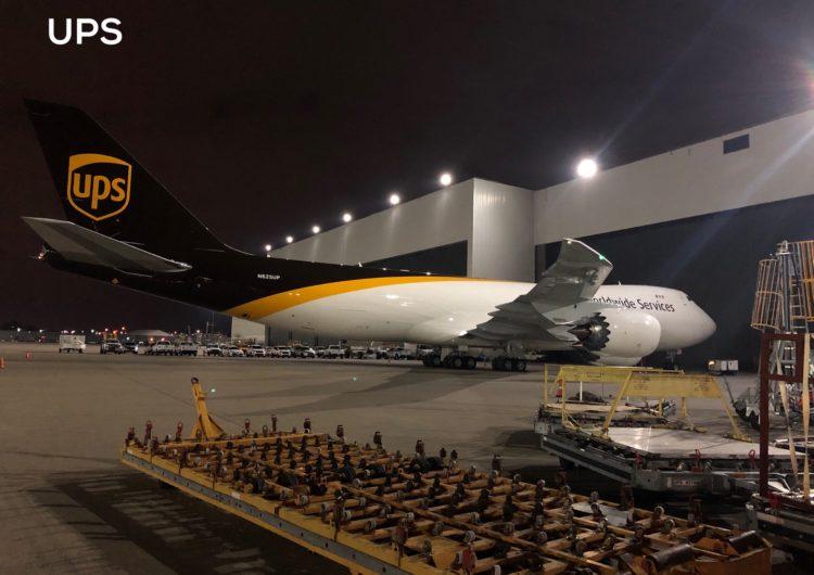 UPS Airlines se transforma en el mayor operador de carga mediante unidades Boeing 747-8 de la historia