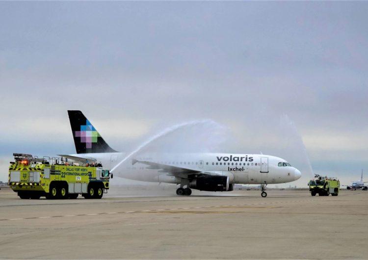 DFW le da la bienvenida a Volaris con su nueva ruta desde cdmx
