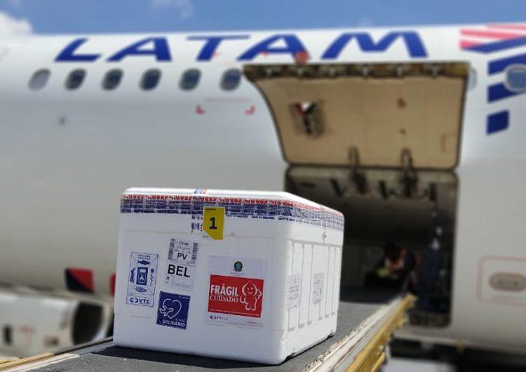 LATAM continuará transportando vacunas gratis en los mercados domésticos de sus filiales durante todo el 2021