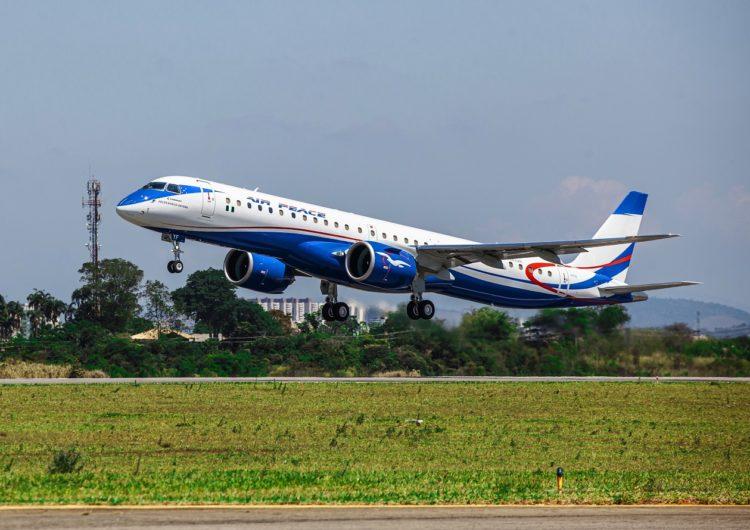 Air Peace recibió el primer E2 en el continente africano