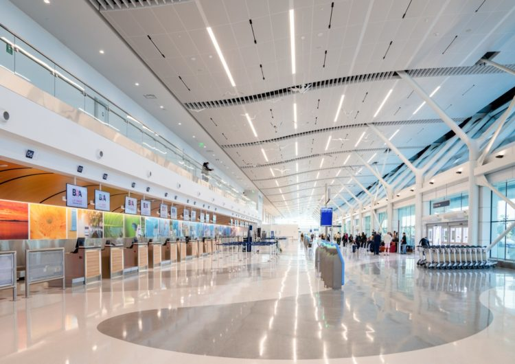 Bermuda's new airport terminal proves popular with passengers