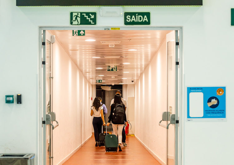 Más de 4,2 millones de personas volaron por Brasil en junio
